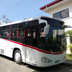 Air-Cond Bus for Funeral Procession