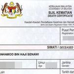 Obtaining Death & Burial Certificate